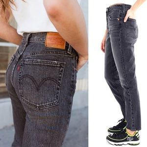 Levi's Vintage 90s Inspired Faded Black Straight